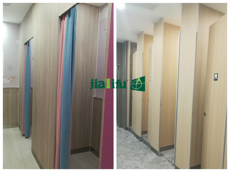 hpl honeycomb shower partition and toilet partition